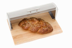 Series of images of kitchen ware. bread bin Stock Images