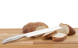 Series of images of kitchen ware. bread bin royalty free stock photo