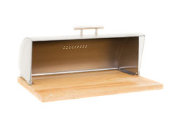 Series of images of kitchen ware. bread bin Stock Photo