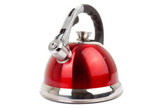 Series of images of kitchen ware. Kettle Stock Images