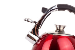 Series of images of kitchen ware. Kettle Royalty Free Stock Image