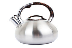 Series of images of kitchen ware. Kettle Royalty Free Stock Photos