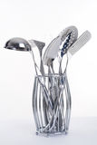 Series of images of kitchen ware. Kitchen tools Royalty Free Stock Photo