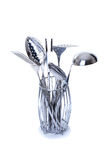 Series of images of kitchen ware. Kitchen tools stock image