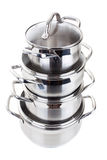 Series of images of kitchen ware. Pan Royalty Free Stock Photo