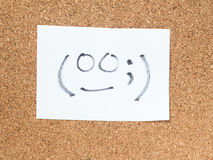 The series of Japanese emoticons called Kaomoji, awkward Stock Photography