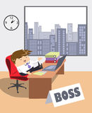 Series Job and people - Boss Stock Photo