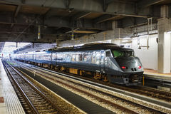 The 787 series a Limited express train Royalty Free Stock Photo