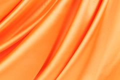 Series in orange fabric. Royalty Free Stock Photography