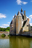 Series of photos with Castles, France Royalty Free Stock Image