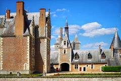 Series of photos with Castles, France Stock Images