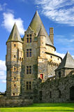 Series of photos with Castles, France Royalty Free Stock Photo