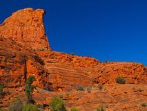 Sunny Sedona Day: Red Rocks and Blue Skies. A series of photos of a late December day in Sedona, Arizona. All photos feature the red rock formations unique to stock images