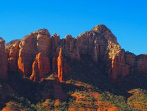 Sunny Sedona Day: Red Rocks and Blue Skies. A series of photos of a late December day in Sedona, Arizona. All photos feature the red rock formations unique to stock photo