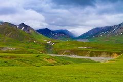 National Parks of Alaska Royalty Free Stock Photography