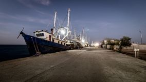 Port of yavaros sonora royalty free stock photography