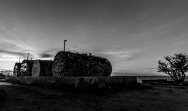 Port of yavaros  sonora. Series of photos of the port of yavaros sonora where you can see tanks Royalty Free Stock Photos