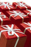 Series of presents Stock Image