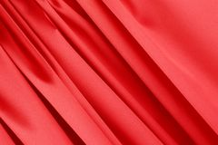 Series in red fabric. Stock Image