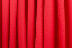 Series in red fabric. Royalty Free Stock Photos