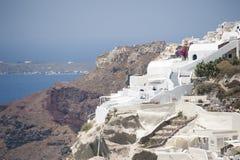 Series of Santorini Greece Stock Photo