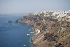 Series of Santorini Greece Royalty Free Stock Images