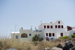 Series of Santorini Greece Royalty Free Stock Images