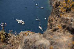 Series of Santorini Greece Royalty Free Stock Photography