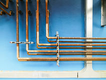The series of steel pipe Royalty Free Stock Photography