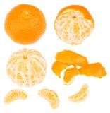 Series of tangerine Stock Photo