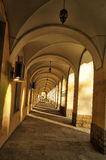 A series of vaulted arches Stock Photos
