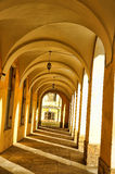 A series of vaulted arches Royalty Free Stock Photos