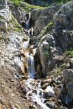 Series of Waterfalls in the Eagle Cap Wilderness, Oregon, USA Royalty Free Stock Photo