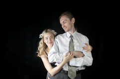 A series of wedding pictures Royalty Free Stock Photos