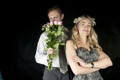 A series of wedding pictures Stock Photo