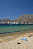 Serifo-Cicladi, Grecia immagine stock