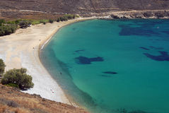 Serifos-Cyclades, Greece. The beach of Koutalas of the best in Serifos Royalty Free Stock Images