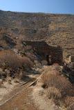 Serifos-Cyclades, Greece. Derelict premises iron ore mine Stock Image