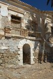 Serifos-Cyclades, Greece. Homes Remnants of the old mines Stock Photo