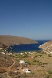 Serifos-Cyclades, Greece. A picturesque coastal settlement Megalo Livadi Stock Photography