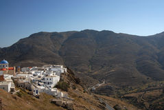 Serifos-Cyclades, Greece Royalty Free Stock Photos