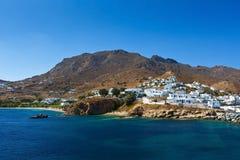 Serifos-Insel stockbild