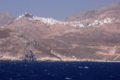 Serifos Island Royalty Free Stock Images