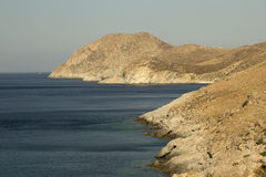 Serifos Island Coast Stock Photography