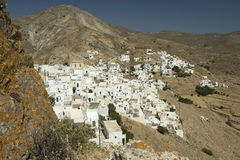 Serifos Island Town, Greece Royalty Free Stock Photos