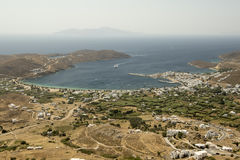 Serifos Island View From Above Stock Images