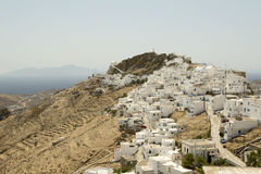 Serifos Town, Greece Royalty Free Stock Photos
