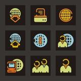 serii ikon sieci Zdjęcia Stock