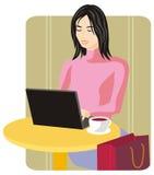 serii ilustracyjny na zakupy. ilustracji