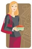 serii ilustracyjny na zakupy. royalty ilustracja